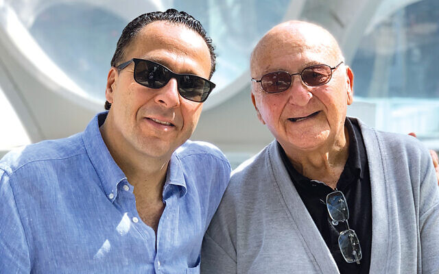 Dr. Daniel Stegman and his father, Josef Stegman.