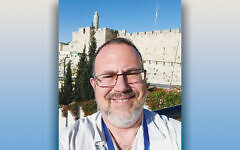Rabbi David Fine took this selfie on a trip to Israel with the Jewish Federation of Northern New Jersey this summer; that's when he thought through his Law Committee paper.