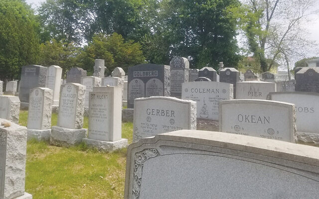 This is a view of the Silk City cemetery. (Cemetery Association)