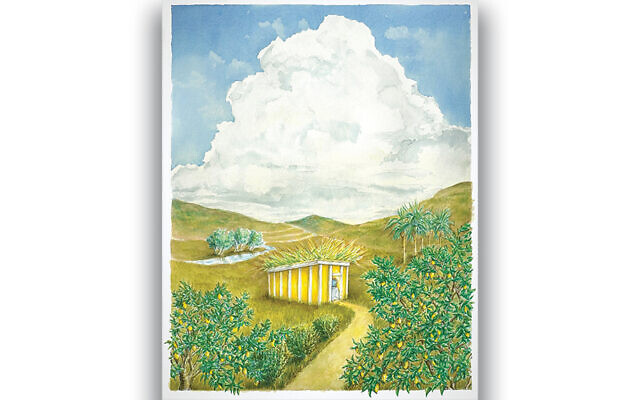 Pamela Simchi's vision of Sukkot is part of a series on the three pilgrimage holidays.