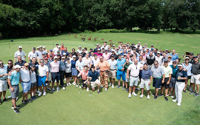 Golfers get ready to start the day at Montammy. (Photos courtesy JCCOTP)