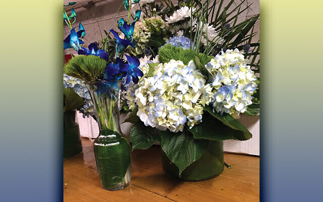 Sample flower arrangements by J-ADD.