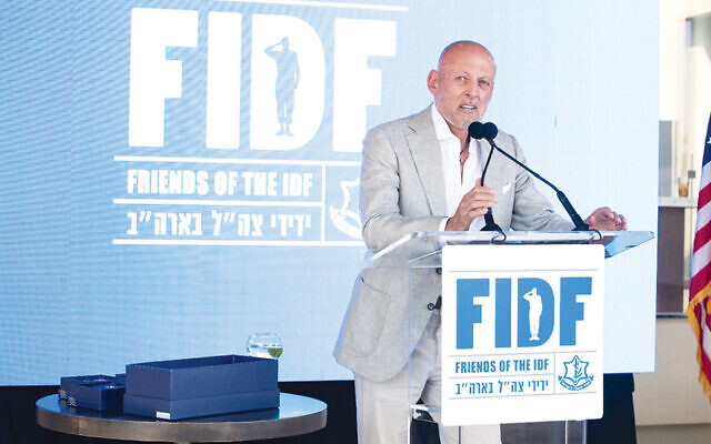 Ofer Yardeni, FIDF NY Affinity Groups chair (Joe Laviero, courtesy of FIDF)