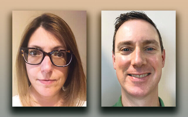 Dr. Heather Friedman-Cohen, left, and Dr. Randy Cohen