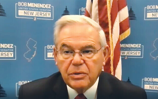 Senator Robert Menendez (Screenshot)