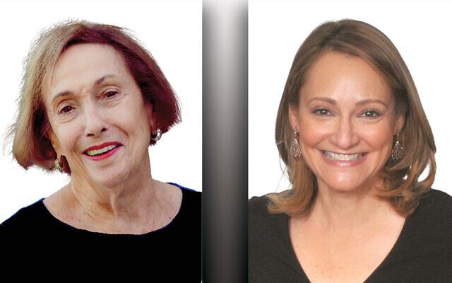 Helen Graf, left, and Debbie Harris