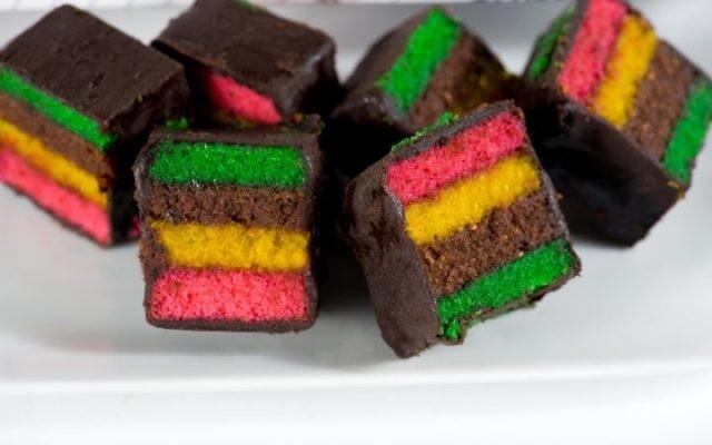 Shabtai Gourmet's Gluten Free Italian Rainbow Cookies. via facebook