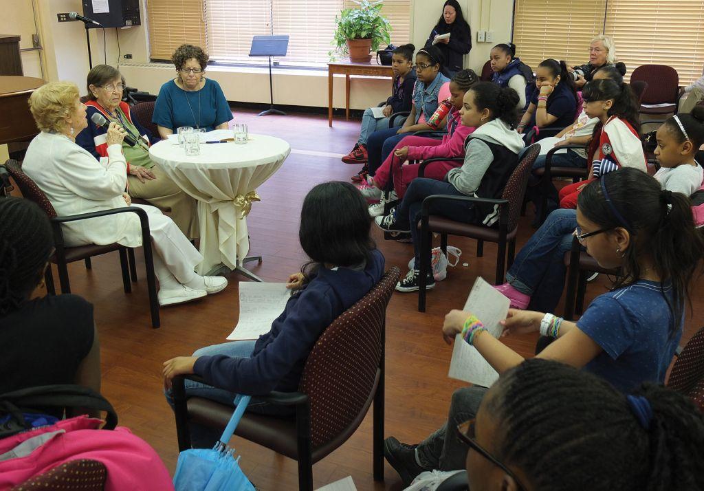 Survivors, Bronx Girls Connect At Senior Home | Jewish Week