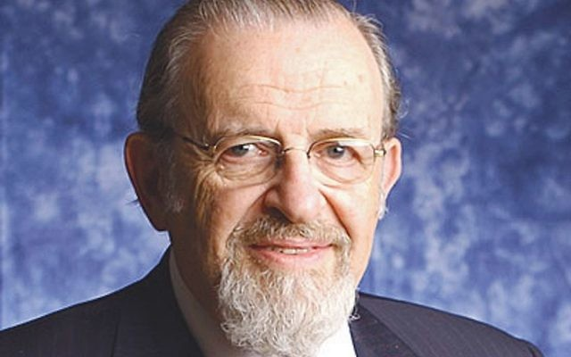 Rabbi Norman Lamm helped rebuild Yeshiva University into the flagship of Modern Orthodoxy during his nearly three decades as its chancellor.