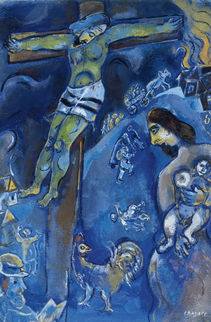 Chagall's Jesus: The great Jewish artist's controversial