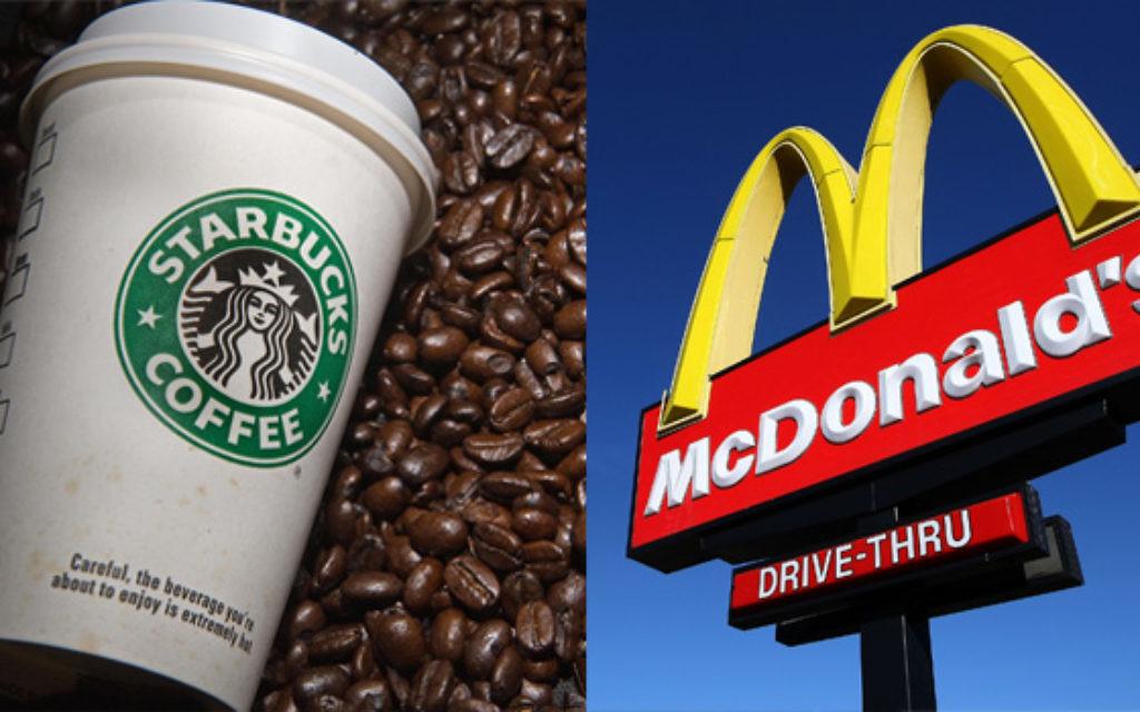 Starbucks, McDonalds Caught In Israel/Gaza Crossfire   Jewish Week