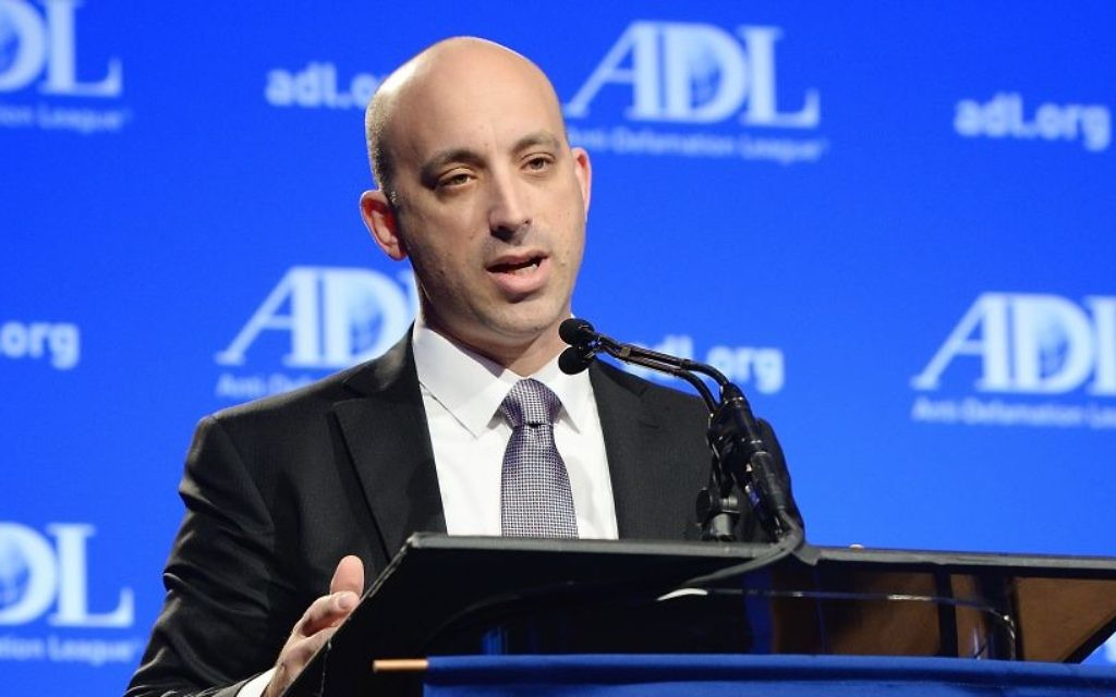 Jonathan Greenblatt at the ADL Annual Meeting. Courtesy of the Anti-Defamation League