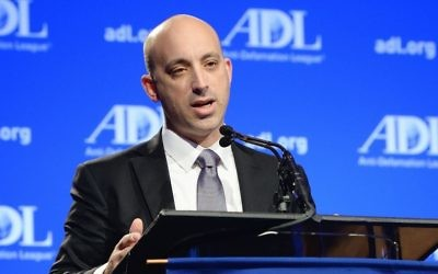 Jonathan Greenblatt at the ADL Annual Meeting. Courtesy of the Anti-Defamation League