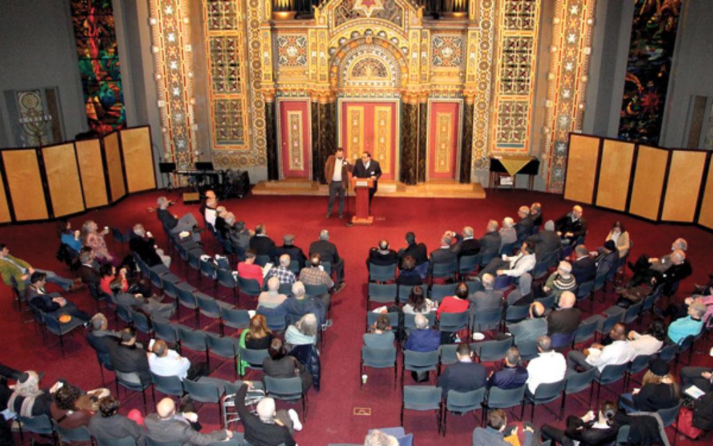 Congregation B'nai Jeshurun. Courtesy of Givat Haviva Educational Foundation