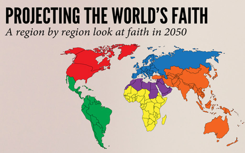 The Future Map Of Religions Reveals A World Of Change For Christians