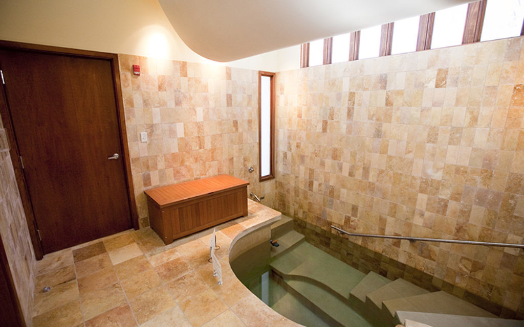 A mikvah in in Newton, Mass. used for conversions. RNS