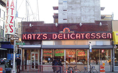 Katz's Delicatessen, a NYC staple, is coming to Spain in the form of a pop-up restaurant. Wikimedia Commons