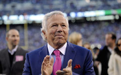 Robert Kraft, Patriots owner and recipient of this year's Genesis award has been charged with two counts of soliciting prostitution amid a wide-ranging investigation into suspected human trafficking in South Florida. Getty Images