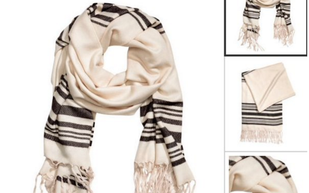 H&M: Your Source For Cheap & Chic Jewish Prayer Shawls