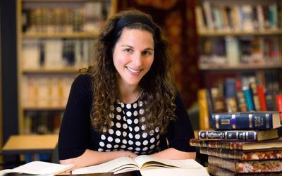 "Lila Kagedan was the first Yeshivat Maharat graduate to go by the title ""rabbi."" JTA"