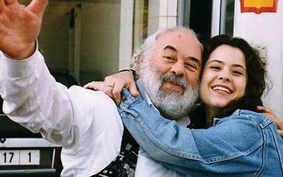 Rabbi Shlomo Carlebach and daughter Neshama.