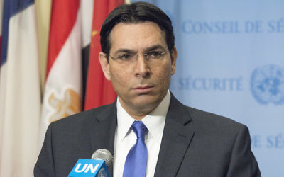 Danny Danon, Israel's ambassador to the United Nations. JTA