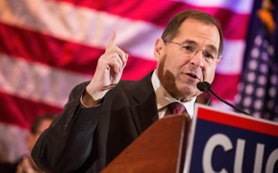 Jewish Democrats, including Rep. Jerry Nadler (D-NY) above, are now set to chair key House committees. Getty Images