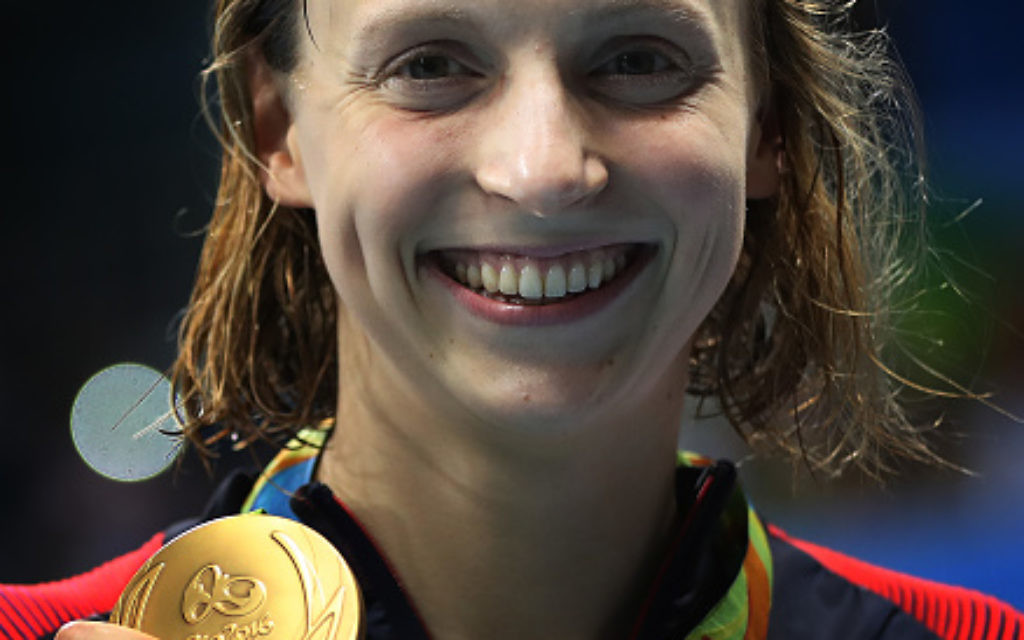 Katie Blogs With Humble Awe For White >> Katie Ledecky S Jewish History Surfaces As She Swims For Gold