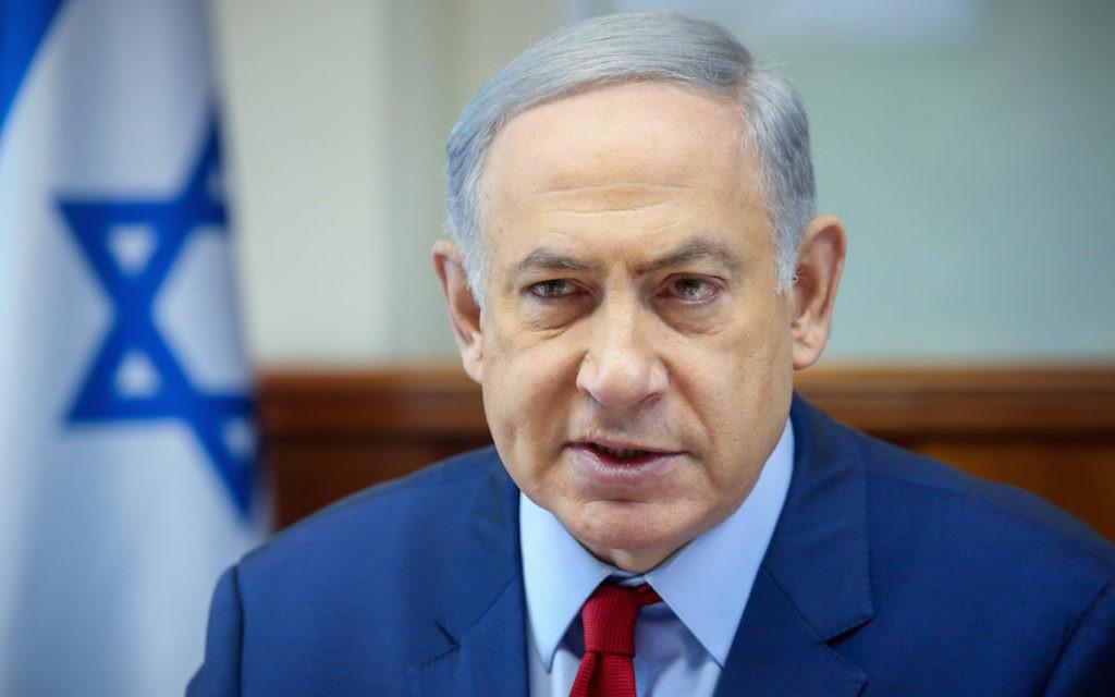 Israeli Prime Minister, Bibi Netanyahu. JTA