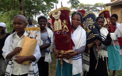 Member of the Uganda Jewish community.