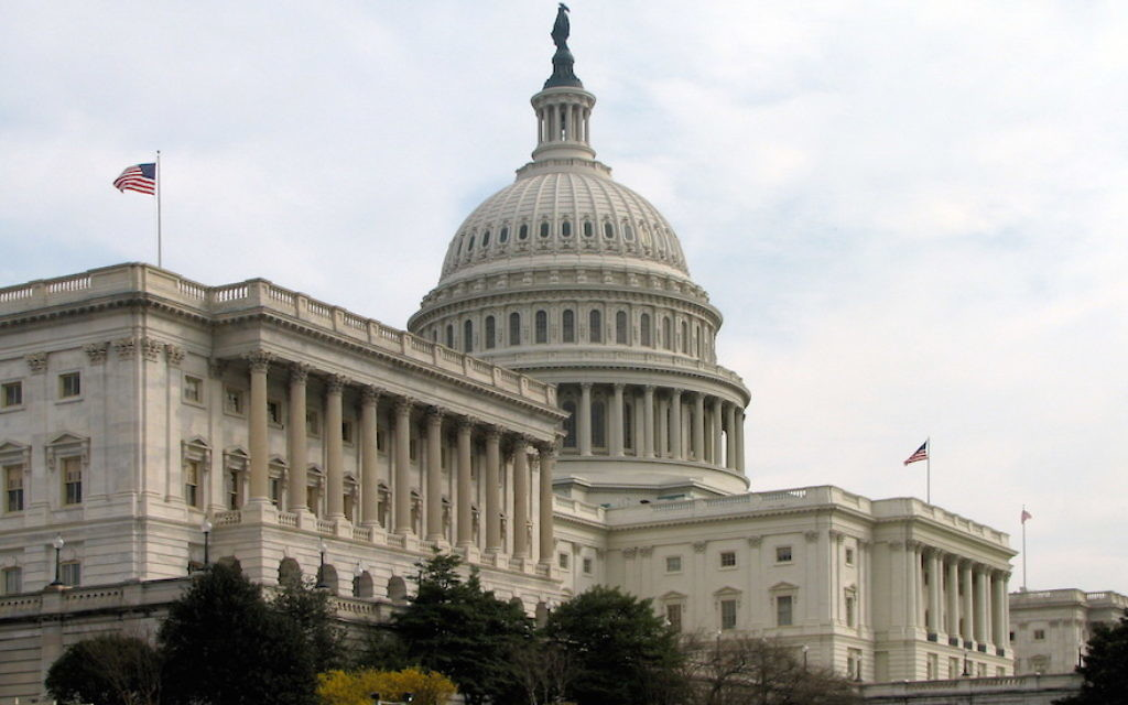 The U.S. Capitol building. Wikimedia Commons