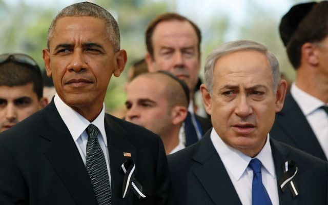 Bitter allies: President Obama and Prime Minister Netanyahu. Getty Images