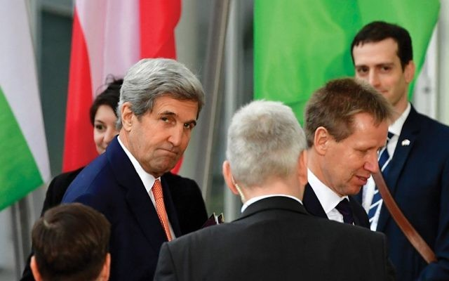 Secretary of State John Kerry is expected to lay out a comprehensive vision for Mideast peace this week. Getty Images