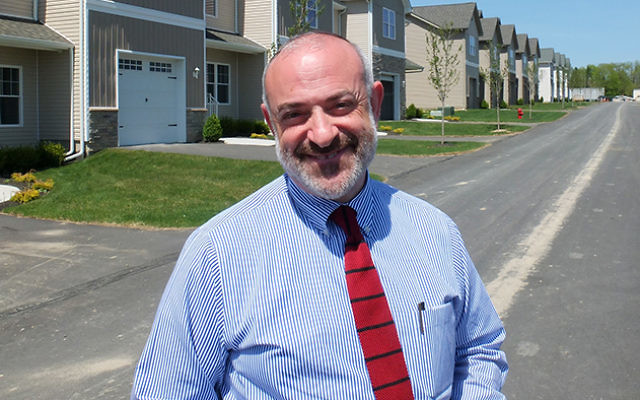 Developer Shalom Lamm is accused of falsely registering voters to further his planned housing project in Sullivan County.  Photos by Michael Datikash/JW
