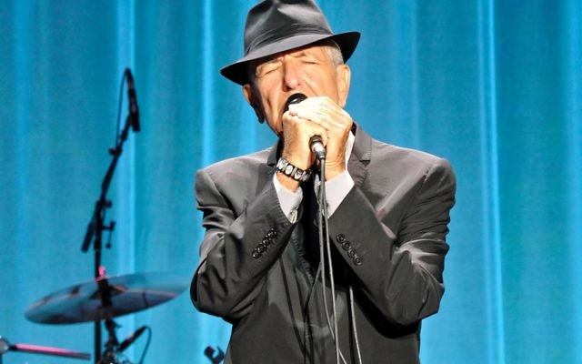 """""""I'm sentimental, if you know what I mean,"""" sang Leonard Cohen, who died in November. """"I love the country but I can't stand the scene."""" He could have been talking about this divisive election season. Getty Images"""