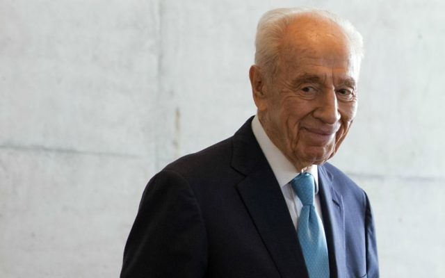 Shimon Peres. Getty Images