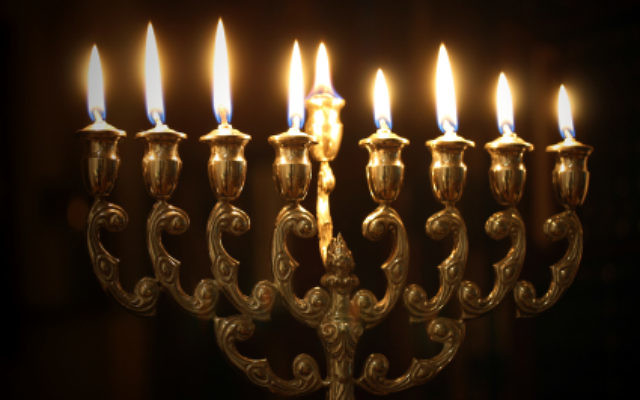 Chanukah Menorah. Courtesy of Google Images
