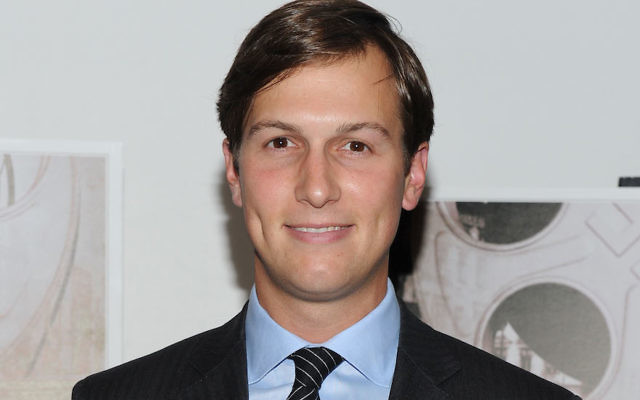 Jared Kushner. JTA