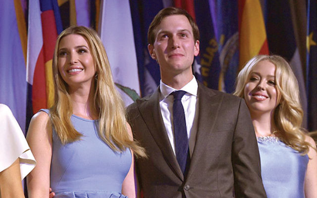 "Jared Kushner and Ivanka Trump: From praise to ""frum-shaming."" GETTY Images"