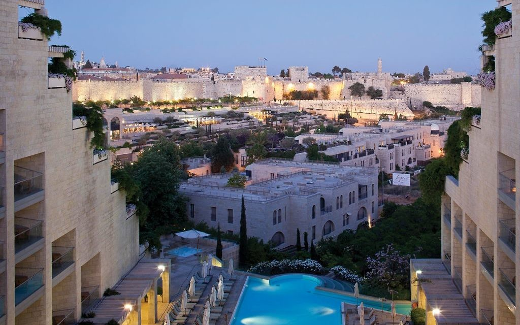 The view from the David Citadel Hotel in Jerusalem. Courtesy of David Citadel