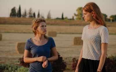 "Yaara Pelzig and Yuval Scharf as sisters in ""Moon in the 12th House,"" Dorit Hakim's promising debut feature. Courtesy of Ran Mendelsohn"