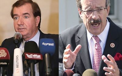 California Republican Rep. Ed Royce and Bronx/Westchester Democrat Eliot Engel joined on pro-Israel resolution. Getty Images