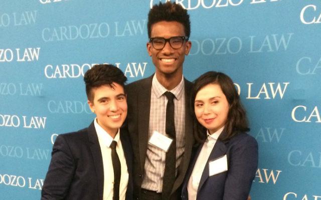 L-R, Sam Stanton MLSA Treasurer, Stephen Wah MLSA President, and Sophia Gurulé MLSA Secretary. Courtesy