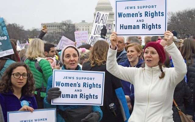 Image result for womens march jewish