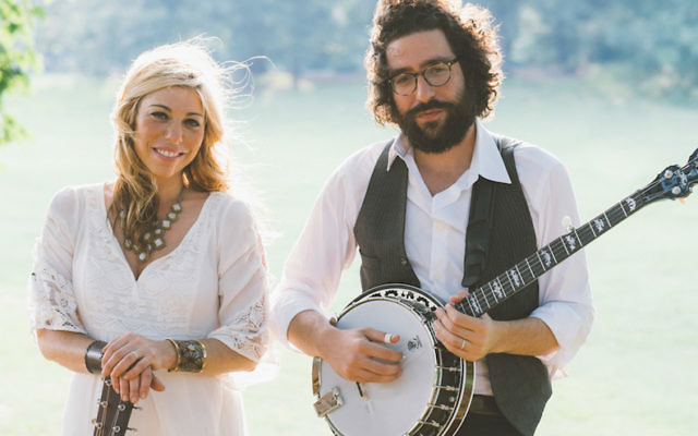 Doni Zasloff and Eric Lindberg combine Jewish lyrical themes with a pure bluegrass sound as the group Nefesh Mountain. (Courtesy of BAM Photography)