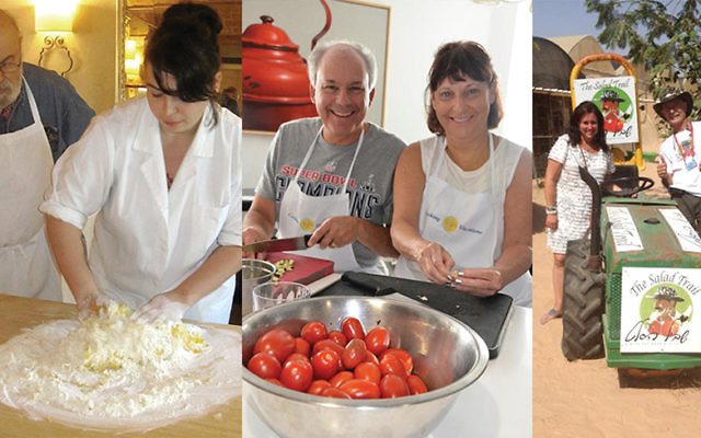 Jewish foodies can explore their culinary heritage on kosher cooking vacations in Europe and Israel.  Courtesy of Cook Euro, Cooking Vacations and Susie Fishbein