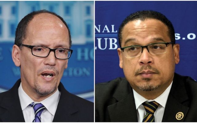 Tom Perez and Rep. Keith Ellison now face the stiff challenge of rebuilding a Democratic Party that has multiple centers of power. Getty Images