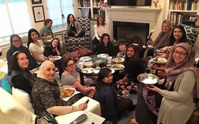 The Sisterhood of Salaam Shalom brings together Jewish and Muslim women to discuss religion, family, and shared hopes and fears.