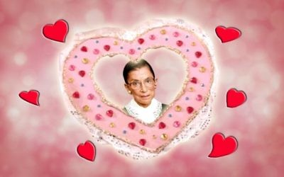"7 reasons Ruth Bader Ginsburg is our ""Jew Crush."""