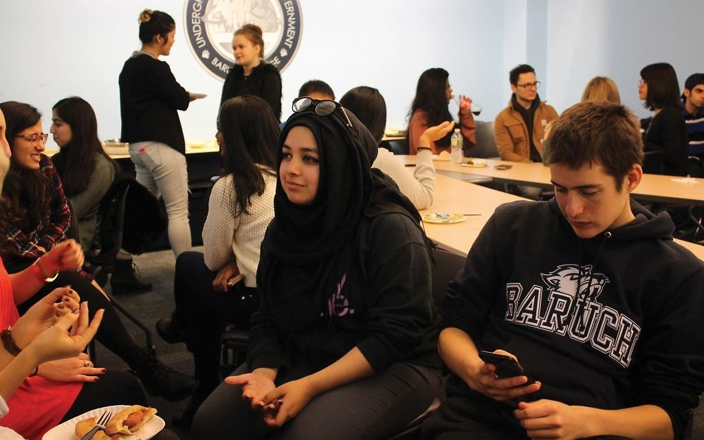 A recent event at Baruch College run by the new Interfaith Entrepreneurial Fellowship. Courtesy of IEF